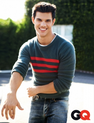 'Twilight Saga's' Taylor Lautner in GQ's July 2010 issue