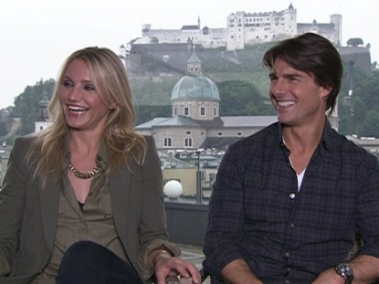 Tom Cruise & Cameron Diaz Talk World Cup Soccer