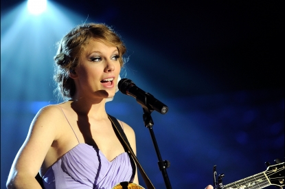 Taylor Swift performs onstage during the 41st Annual Songwriters Hall of Fame Ceremony at The New York Marriott Marquis in New York City on June 17, 2010