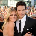 "AnnaLynne McCord and Kellan Lutz arrive at the premiere ""The Twilight Saga: Eclipse"" at Nokia Theatre LA Live in Los Angeles, California on June 24, 2010"