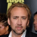 Nicolas Cage at the 'Kick-Ass' premiere in LA on April 13, 2010