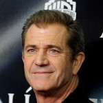 Mel Gibson at the 'Edge of Darkness' premiere in Madrid, Spain, on February 1, 2010