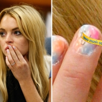 Lindsay Lohan attends a probation revocation hearing at the Beverly Hills Courthouse on in Los Angeles, California July 6, 2010