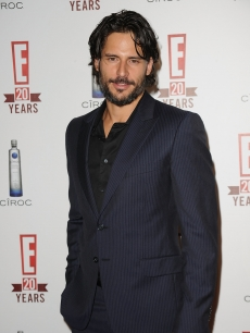 Joe Manganiello is all smiles on the red carpet at the E! 20th anniversary party at The London Hotel in West Hollywood on May 24, 2010