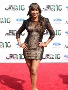 Vivica A. Fox turns heads at the 2010 BET Awards at the Shrine Auditorium in LA on June 27, 2010