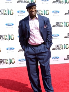 Michael Clarke Duncan attends the BET Awards at the Shrine Auditorium in Los Angeles on June 27, 2010