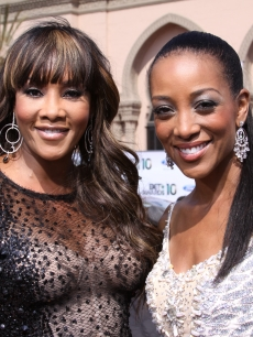 Vivica A. Fox and Access Hollywood&#8217;s Shaun Robinson light up the red carpet at the BET Awards held at the Shrine Auditorium in Los Angeles, Calif., on June 27, 2010