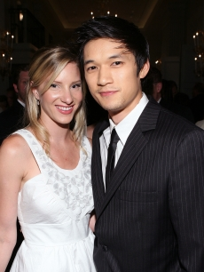 &#8220;Glee&#8217;s&#8221; Heather Morris and Harry Shum Jr. attend The Inaugural Thirst Gala held at Casa Del Mar, Santa Monica, June 29, 2010