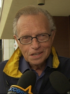 Larry King talks to Access Hollywood on June 30, 2010