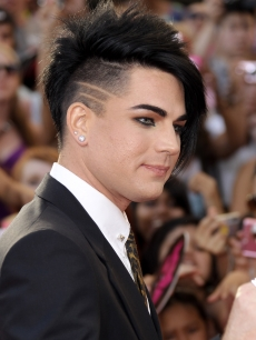 Adam Lambert arrives on the red carpet of the 21st Annual MuchMusic Video Awards at the MuchMusic HQ, Toronto, Canada, June 20, 2010