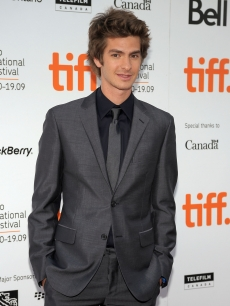 Andrew Garfield attends the 'The Imaginarium of Doctor Parnassus' premiere held at Roy Thomson Hall during the 2009 Toronto International Film Festival on September 18, 2009 in Toronto, Canada