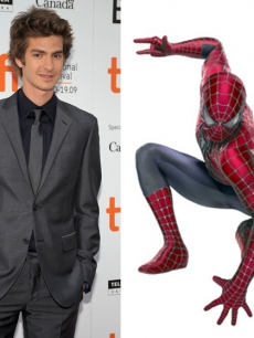 Andrew Garfield, pictured here in Toronto on September 18, 2009, has been cast as the new Spider-Man