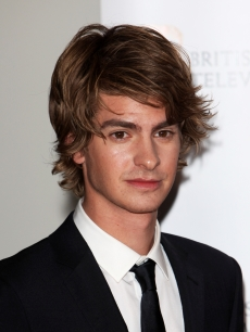 Andrew Garfield poses at the BAFTA Television Awards 2009 at the Royal Festival Hall, London, April 26, 200