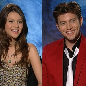 Jackson Rathbone &amp; Nicola Peltz Talk &#8216;The Last Airbender&#8217;