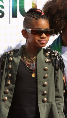 Willow Smith shows off a new &#8216;do at the BET Awards, June 2010