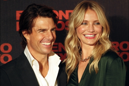 "Tom Cruise and Cameron Diaz promote ""Knight And Day"" in Brazil, July 6, 2010"
