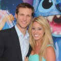 Jake Pavelka and Vienna Girardi arrive at the World Of Color Nighttime Water Spectacular Debuts At Disneyland, Anaheim, Calif., June 10, 2010