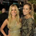 Queen bees Kristin Cavallari and Lauren Conrad pose during MTV's The Hills Live A Hollywood Ending finale in Hollywood on July 13, 2010