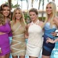 "Audrina Patridge, Kristin Cavallari, Lauren Bosworth and Stephanie Pratt attend MTV's ""The Hills Live: A Hollywood Ending"" Finale event held at The Roosevelt Hotel in Hollywood, California on July 13, 2010"