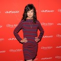 Katie Holmes poses on the red carpet at the &#8220;The Extra Man&#8221; premiere at the Village East Cinema in New York City on July 19, 2010