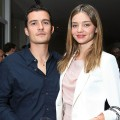 Orlando Bloom and Miranda Kerr at Audi&#8217;s celebration of the arrival of TDI clean diesel technology held on June 23, 2009 in Beverly Hills, Calif.