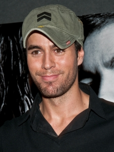 Enrique Iglesias present the fragrance Azzaro Pour Homme during the perfume's launch party at Number Bar in Sao Paulo, Brazil on May 11, 2010