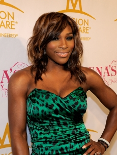Serena Williams hits the red carpet at her Pre-ESPYs House Party held at a private residence in Bel Air, Calif., on July 12, 2010