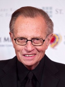 Larry King at the 2010 An Evening with Larry King and Friends Gala at the Ritz-Carlton Hotel, Washington, D.C., March 6, 2010
