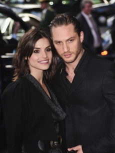 Tom Hardy and fiancee Charlotte Riley attend the English National Ballet 60th Anniversary party at the Dorchester Hotel in London, England on June 15, 2010