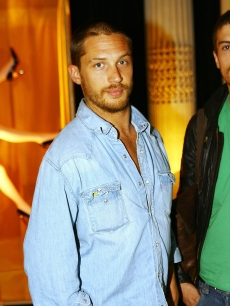 Tom Hardy attends the preview of the SkyHD Designer Box Collection at the Savile Club, Mayfair in London, England on July 19, 2007
