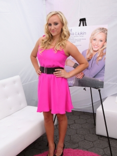 Olympic Gold Medalist Gymnast Nastia Liukin attends the launch of Nastia Liukin's new clothing line 'Supergirl by Nastia' for JCPenny at Greely Square Park on July 24, 2010 in New York City
