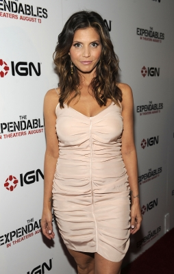"""The Expendables"" actress Charisma Carpenter poses on the red carpet at the IGN Celebrates ""The Expendables"" Comic-Con party held at the Float at the Hard Rock in San Diego, Calif., on July 22, 2010"