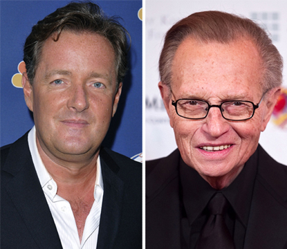 Piers Morgan, Larry King