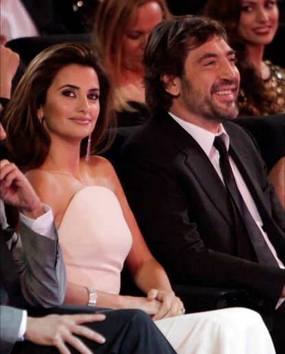 Javier Bardem Penelope Cruz, attend the Goya Awards 2010 at Palacio de Congresos, Madrid, Spain, February 14, 2010