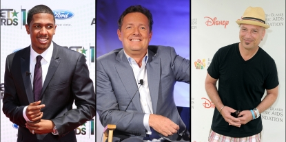 """America's Got Talent"" stars Nick Cannon, Piers Morgan and Howie Mandel"