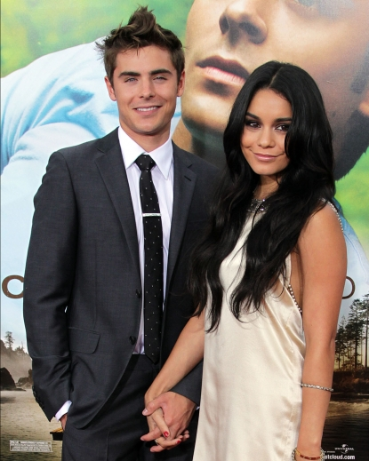 "Zac Efron and Vanessa Hudgens attend the ""Charlie St. Cloud"" film premiere at the Regency Village Theater on July 20, 2010 in Los Angeles, California"