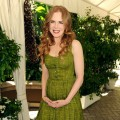 Nicole Kidman looks dainty in a green dress at the Hollywood Foreign Press Association&#8217;s Installation Luncheon at The Four Seasons in Beverly Hills, Calif., on July 28, 2010