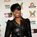 Fantasia poses backstage during the Vh1 Upfront 2010 at Pier 59 Studios in New York City on April 20, 2010