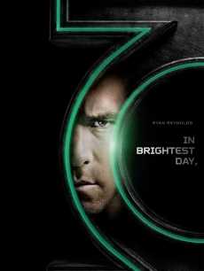"Ryan Reynolds as Hal Jordan/Green Lantern in promo art for ""Green Lantern"""