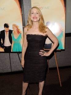 """Cairo Time"" actress Patricia Clarkson poses for pictures at the film's premiere at Cinema 3 in New York City on July 26, 2010"