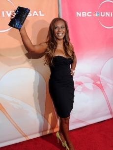Mel B arrives at NBC Universal's 2010 TCA Summer Party in Beverly Hills, California on July 30, 2010