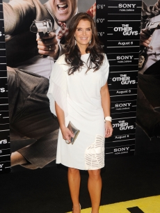 Brooke Shields attends the New York premiere of &#8220;The Other Guys&#8221; at the Ziegfeld Theatre, NYC, August 2, 2010