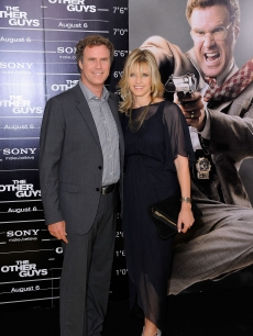 "Will Ferrell and Viveca Paulin attend the New York premiere of ""The Other Guys"" at the Ziegfeld Theatre in New York City on August 2, 2010"