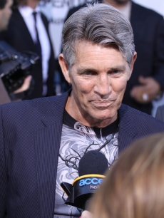 "Eric Roberts stops to talk with Access outside the ""The Expendables"" premiere at Grauman's Chinese Theatre in Hollywood on August 3, 2010"