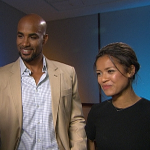 Dish Of Salt, 2010 NBC TCAs: Gugu Mbatha-Raw & Boris Kodjoe Talk 'Trailblazing' With NBC's 'Undercovers'