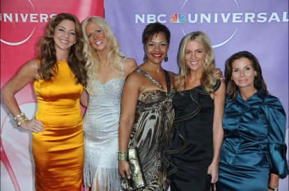 &#8220;The Real Housewives of DC&#8221; stars Mary Amos, Michaele Salahi, Stacie Scott Turner, Cat Ommanney and Lynda Erkiletian arrive at NBC Universal&#8217;s 2010 TCA Summer Party at the Beverly Hilton Hotel in Beverly Hills on July 30, 2010 