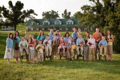 "The Duggars from ""19 Kids and Counting"" on TLC"