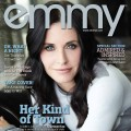 Courteney Cox graces the cover of Emmy Magazine's Issue #4 for 2010