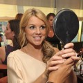 "Ali Fedotowsky gets camera ready before the 2nd Annual ""Give & Get Fete"" at the SoHo House in West Hollywood, on August 16, 2010"