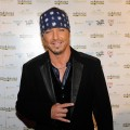 Bret Michaels arrives at the 2010 Miss Universe Pageant at the Mandalay Bay Events Center, Las Vegas, August 23, 2010